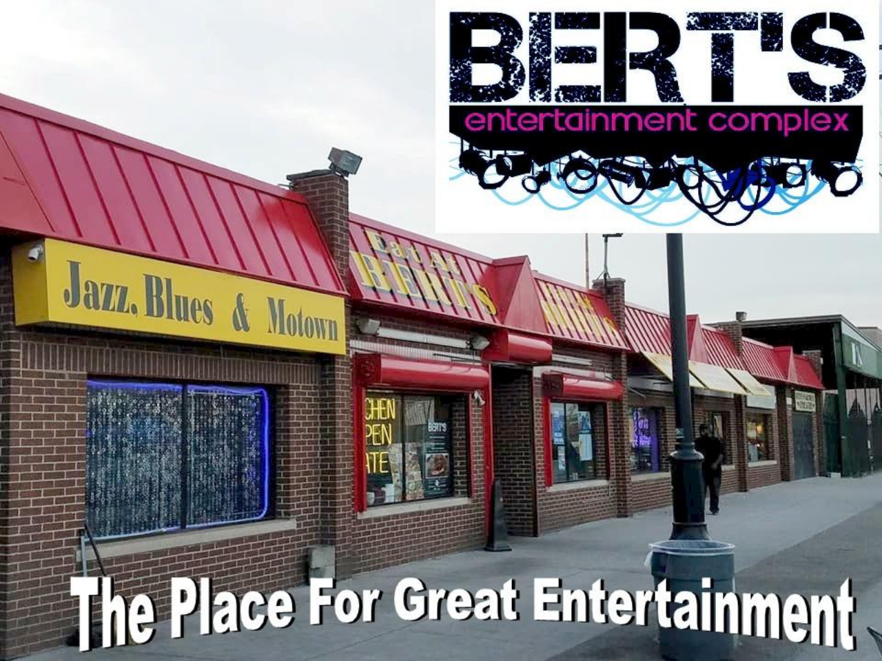 Bert's Market Place & Entertainment  Complex