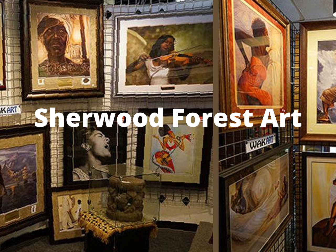 Sherwood Forest Art