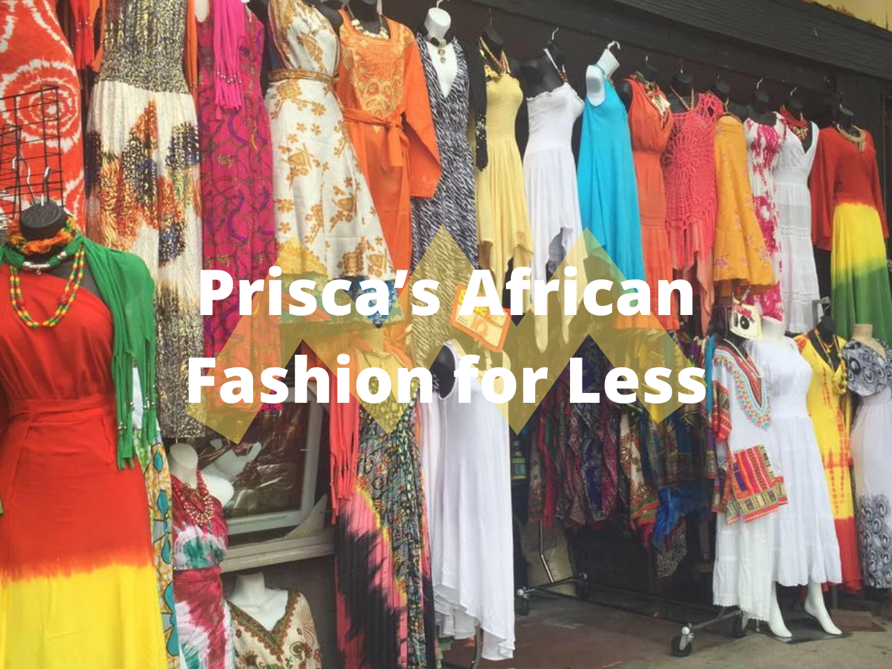 Prisca's African Fashion for Less