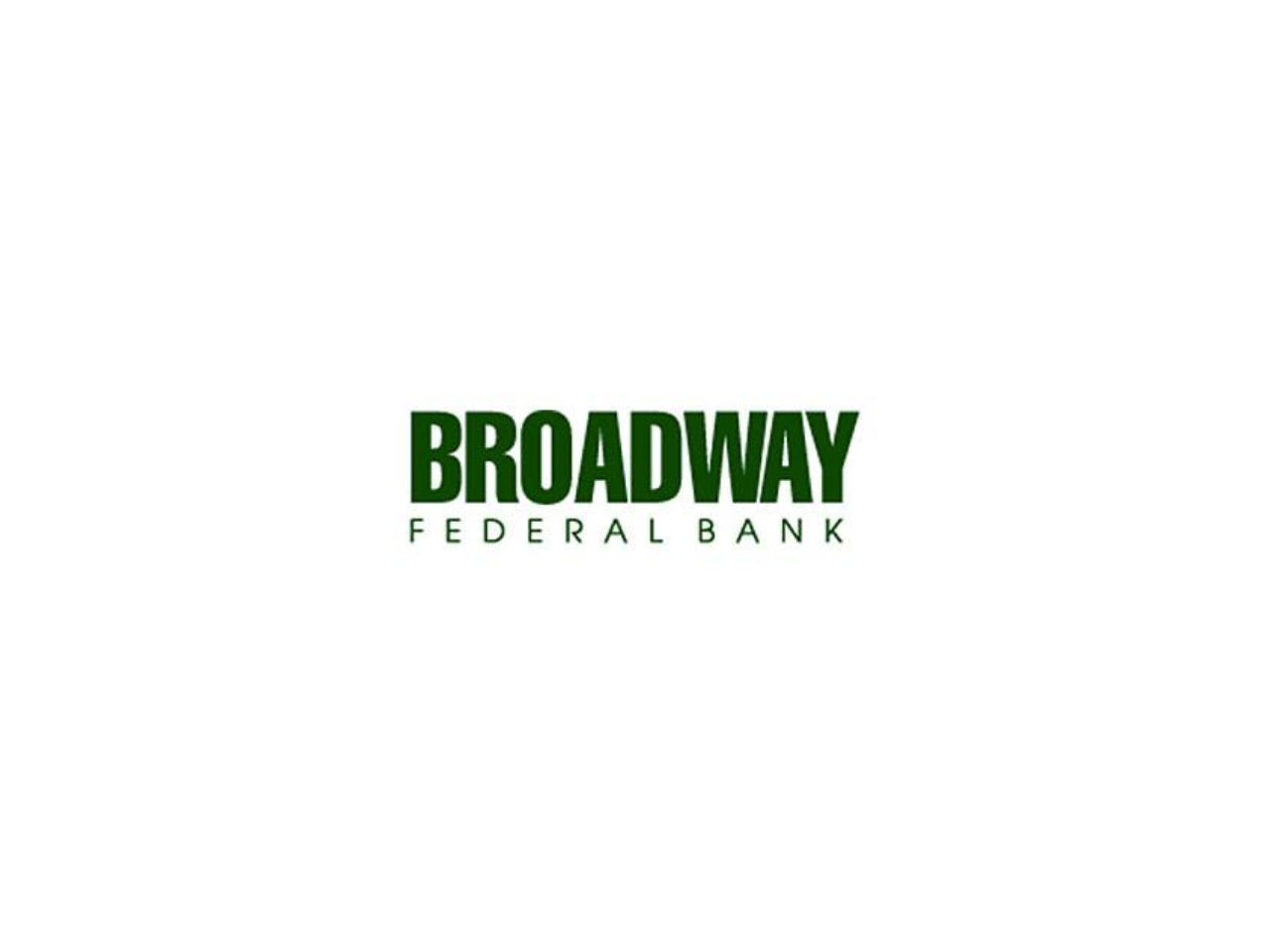 Broadway Federal Bank