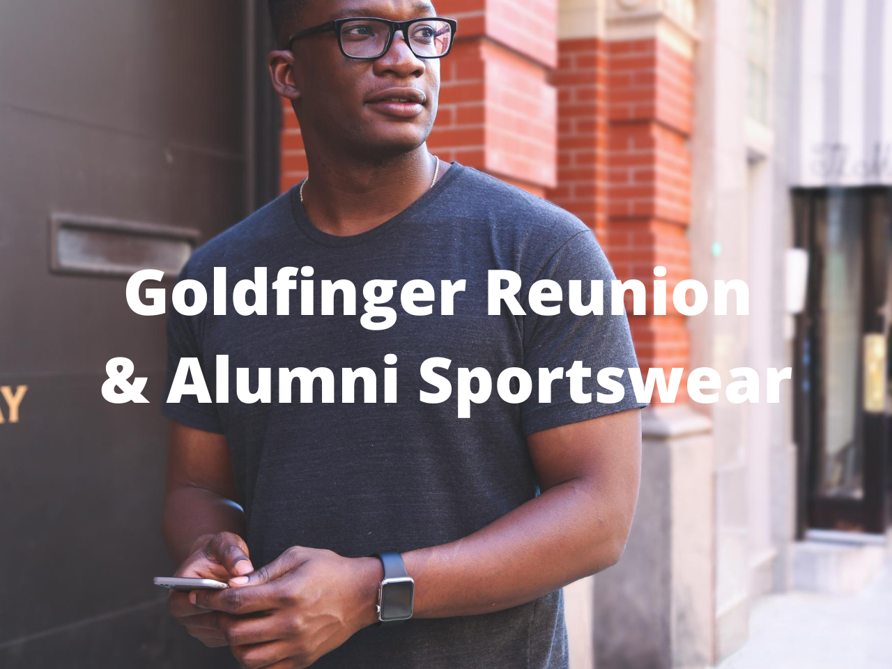 Goldfinger Reunion & Alumni Sportswear